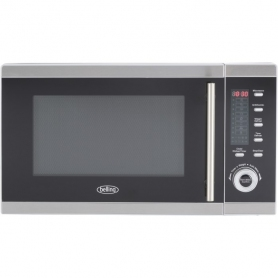 Belling FM2590G 25L 900W Freestanding Microwave With Grill in Stainless Steel