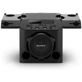 Sony GTK-PG10 Outdoor Party Speaker. One Box Music System, with Built in Battery and Foldable Table