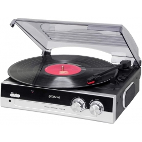 Groov-e Vinyl Turntable for 33/45RPM