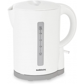 Sabichi 189080 1.7L Cordless Kettle - Gloss White