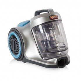 Vax VRS2041 VX3 Pet Cylinder Vacuum Cleaner, Cyclonic Technology - Silver