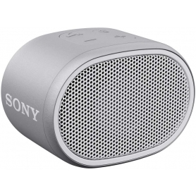 Sony SRS-XB01 Compact Portable Water Resistant Wireless Bluetooth Speaker with Extra Bass - White