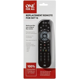 One For All SKY Q Replacement remote control – Works with ALL Sky Q receivers