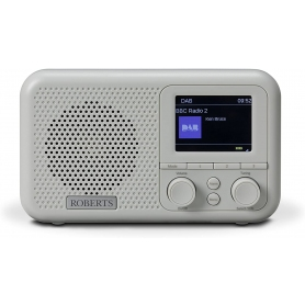 Roberts Radio PLAYM4 DAB/DAB+/FM Digital Radio with Flexible Alarm - Grey