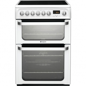 Hotpoint Ultima HUE62PS Electric Cooker - 0